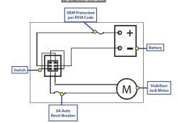 Wiring Diagram For Lipper Stabilizer Jacks Etrailer Com