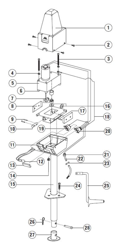 Where Does Replacement Beveled Gear Set Install on an