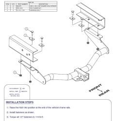 Does the Curt Hitch C13064 for a 1998 Nissan Frontier Come