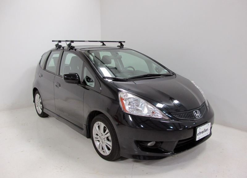 Fitment of SportRack Roof Rack SR1002 on a 2008 Honda Fit