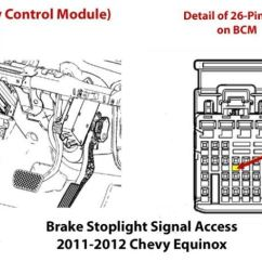 2006 Chevy Colorado Wiring Diagram 1971 Chevelle Where Is Stoplight Circuit For Installing Brake Controller In A 2016 Equinox | Etrailer.com