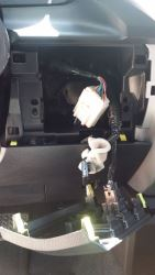 Brake Controller Install Harness Location on a 2016 Toyota