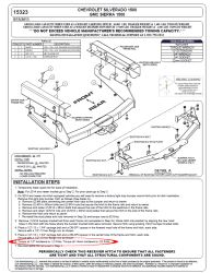 Where To Find Torque Specs for Curt Class V Trailer Hitch