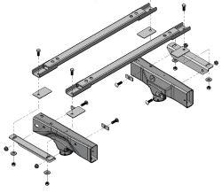 Installation of UMS Demco 18K Auto Slide Base Rails on a