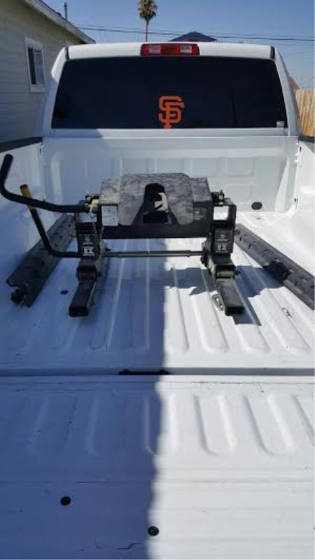 Under Bed 5th Wheel Bracket Kit For 2014 Ram 2500 With
