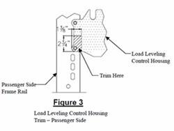 Do I Modify My Auto Level Housing to Install a Draw-Tite