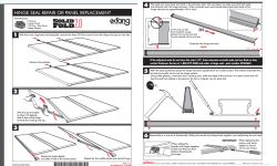 How Does Rear Panel of Extang Solid Fold 2.0 Install