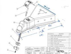 Standard 50 Degree A-Frame Coupler Fit For Custom Build