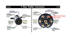 How To Wire The Bulldog Powered Drive Trailer Jack # BD500185 On A