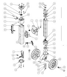 Replacement Bearing and Gear Kits for a Fulton F2 1,600-lb
