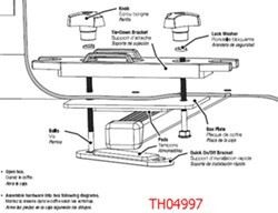 Installation Instructions for the Thule QM3 Quick On-Off