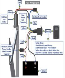 Wiring Diagram for Lippert Stabilization Jack LC298707