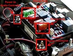 2001 gmc sierra trailer wiring diagram plumbing a toilet drain troubleshooting brake controller on 2002 2500 hd | etrailer.com
