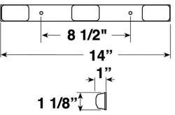 Shorelander 5110575 ID Bar Clearance Light Replacement