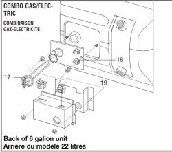 Can the Heating Element for an Atwood GC6AA-10E be