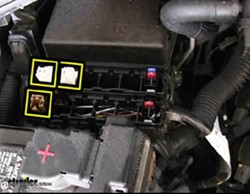 Fuse Box Location for Installation of Curt Relay Kit for Nissans | etrailer
