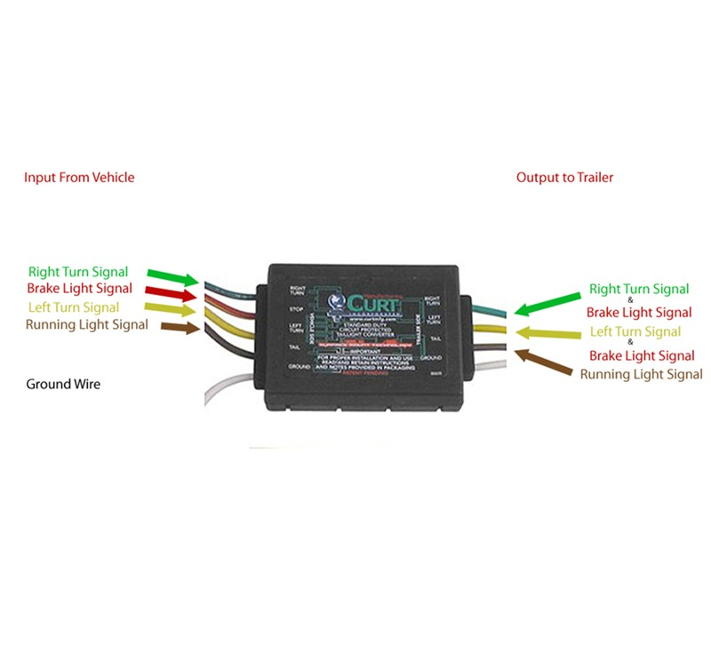 4 Pole Trailer Light Wiring Diagram Replacing Oem Trailer Wiring Harness With 118336 For
