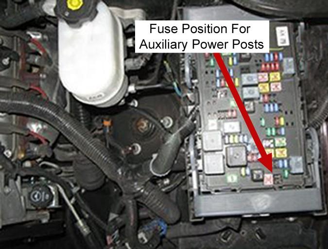 30 amp generator plug wiring diagram 2005 suzuki gsxr 750 how to get 12 volt power for installation of a prodigy brake controller on 2011 gmc yukon ...