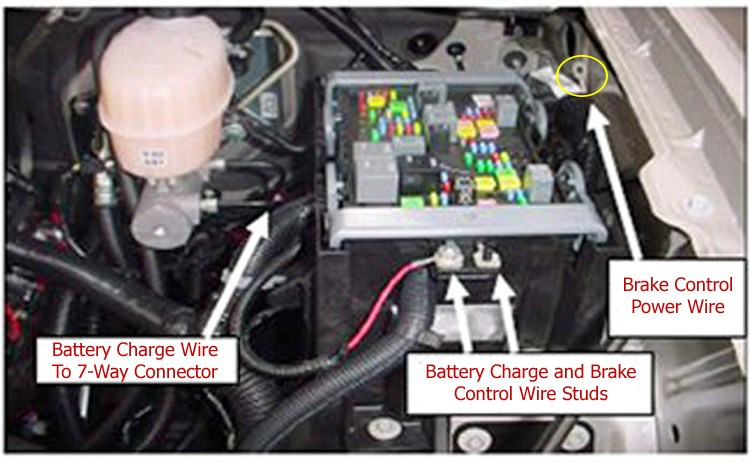2005 Freightliner M2 Wiring Diagram Installation Of The Prodigy Rf Brake Controller On A 2009
