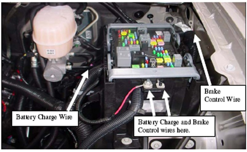 Silverado Trailer Brake Wiring Harness