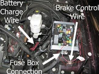 Gm 7 Way Trailer Plug Wiring Diagram Brake Controller Installation On A 2010 Chevrolet