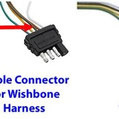 12 Pin Flat Trailer Plug Wiring Diagram Auto Gauge Tachometer Replacing 4-pole Connector On Snow Bear | Etrailer.com