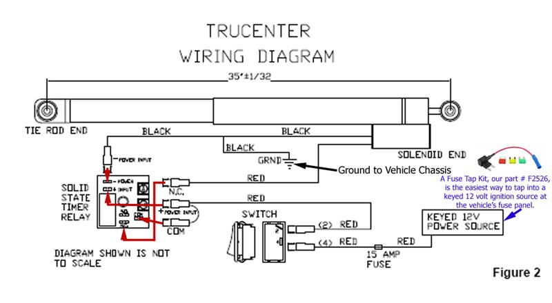 2009 Ford F53 Wiring Diagram Installation Instructions For A Blue Ox Trucenter Steering