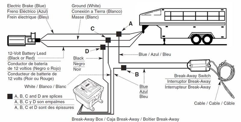 trailer wiring diagram 7 way with break away 2001 ford focus radio brake controller only works pin pulled on breakaway kit | etrailer.com
