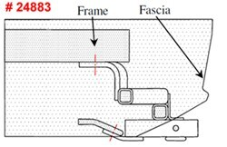 Is Draw-Tite Trailer Hitch # 24883 Hidden Behind the