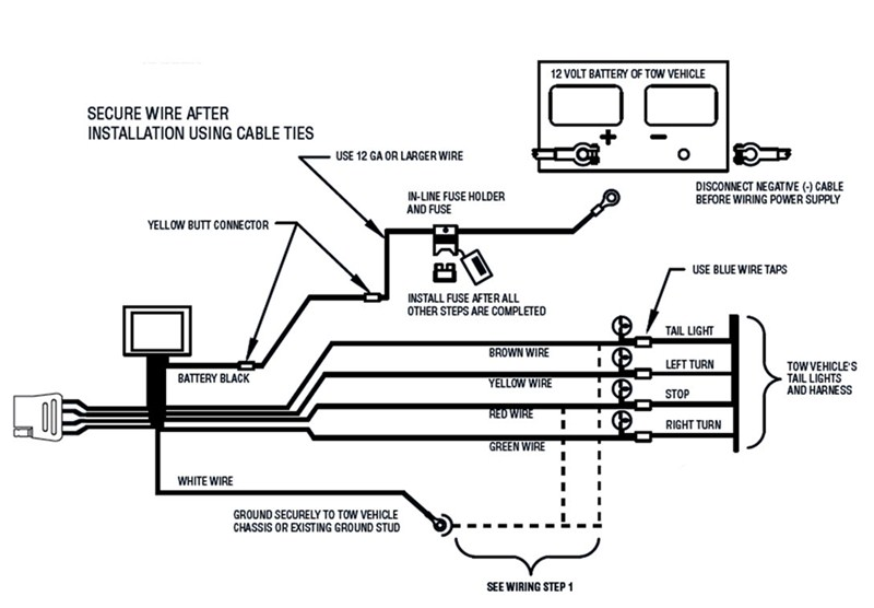 Ford Truck Towing Trailer Electrical Diagram