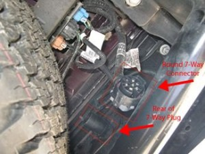 How to Connect Factory Wiring on 2008 GMC Sierra 2500 HD to Pollak TwistIn 7Way # PK11916