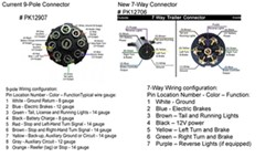 Bargman Connector Wiring Diagram, Bargman, Free Engine