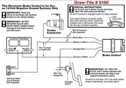 Draw Tite Brake Controller Wiring Diagram  Somurich