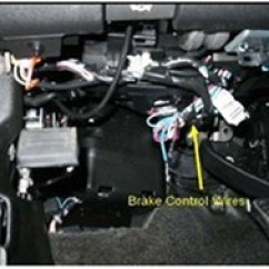Trailer Brake Controller Wiring Diagram For Seymour Duncan Pickups Installing A On 2011 Chevrolet Silverado 3500 With Oem Integrated ...
