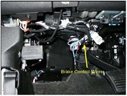 wiring diagram for 7 wire trailer plug 1966 chevelle installing a brake controller on 2011 chevrolet silverado 3500 with oem integrated ...