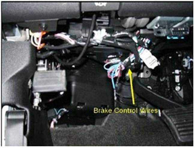 2012 Chevy Trailer Wiring Connector Installing A Brake Controller On 2011 Chevrolet Silverado