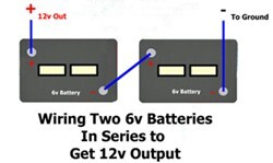 Jd 4020 24 Volt Wiring Diagram How To Wire Two 6 Volt Batteries In Series To Double