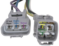 2013 Tacoma Trailer Wiring Harness Oem Replacement 7 Way Trailer Connector For A 2004 Toyota