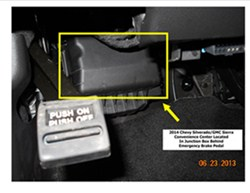 wiring diagram for trailer brake controller hard start capacitor installation-2014 chevy silveardo | etrailer.com
