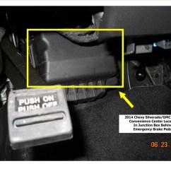 Trailer Plug Wiring Diagram 7 Way 1980 Cb750 Brake Controller Installation-2014 Chevy Silveardo | Etrailer.com