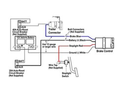 Wiring Hopkins Brake Controller # HM47297 To Stop Light Switch On