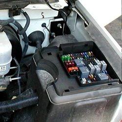 2007 F150 Fuse Box Diagram Tell Lights Where Is The Fuse Box In A 2004 Chevy Silverado Etrailer Com