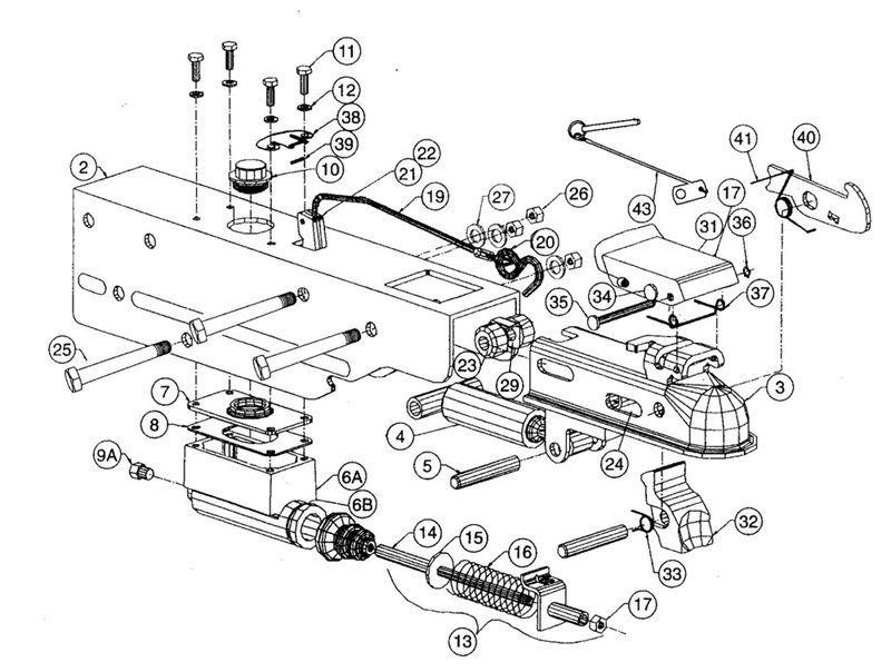 Trailer Surge Brake Diagram Pictures to Pin on Pinterest