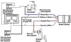 Wiring Diagram Tekonsha Voyager Brake Controller # 39510