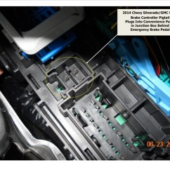 Wiring Diagram For Trailer Brake Controller 6 Pin Cdi Box How Does The Pod Install On A 2014 Chevy Silverado 1500 | Etrailer.com