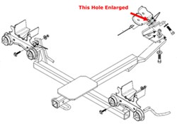 Installation of Draw-Tite Class II # 36762 Receiver Hitch