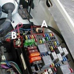 2005 Trailblazer Fan Clutch Wiring Harness Brake Controller Fuse Location On A 2001 Chevy Silverado
