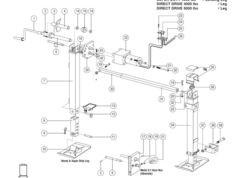 How To Replace Beveled Gears on Atwood Landing Gear