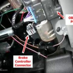 2001 Ford F 150 Fuse Box Diagram 98 Audi A4 Location Of Brake Controller Connector On 2005 F150 | Etrailer.com