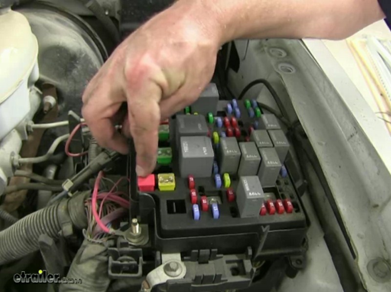 2005 Trailblazer Fuel Pump Wiring Diagram Location Of The 40 Amp Fuse For The 2006 Chevrolet
